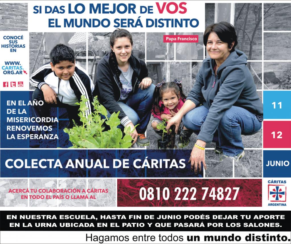 COLECTA ANUAL DE CARITAS 2016
